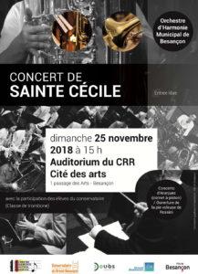 Affiche Saint Cécile 2018