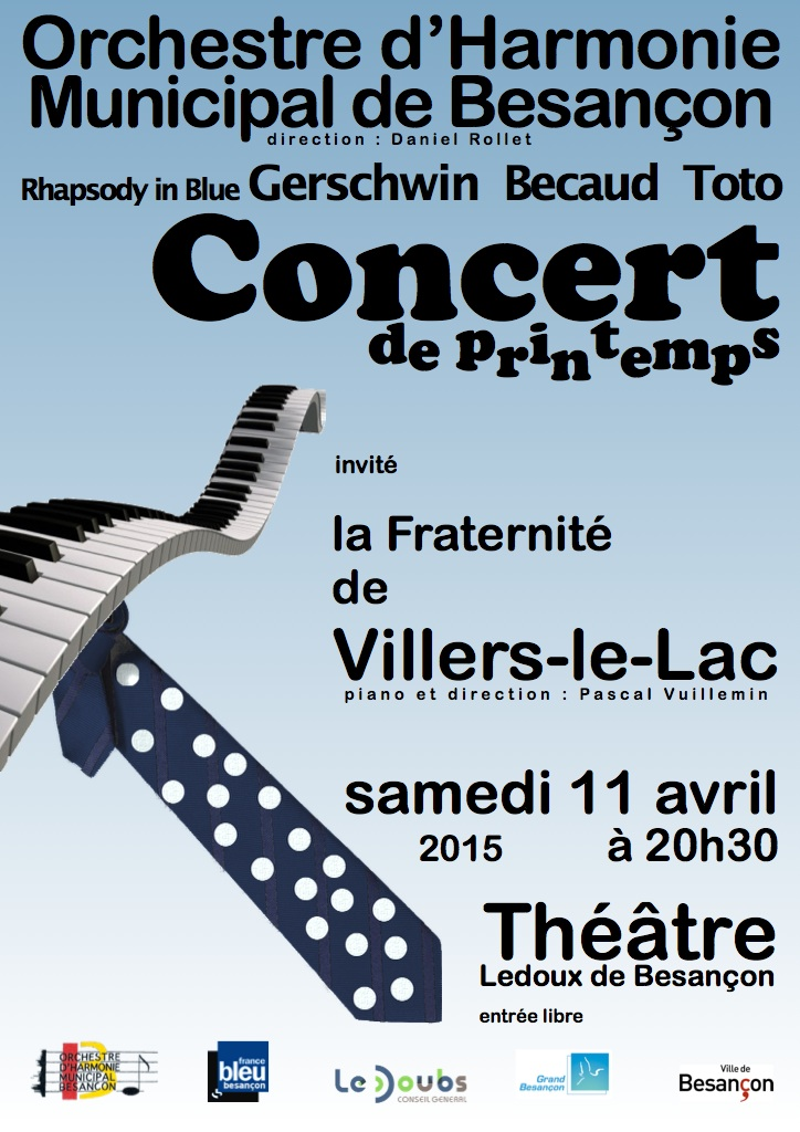 Concert de printemps 2015